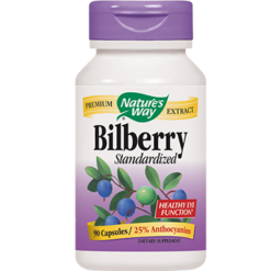 Natures Way Bilberry 80 mg 90 caps BILB7