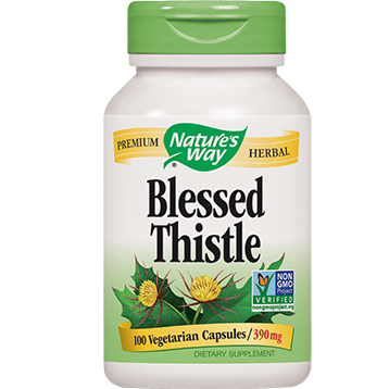 Natures Way Blessed Thistle Herb 100 caps BLES3