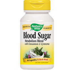 Natures Way Blood Sugar 90 caps BLOO9