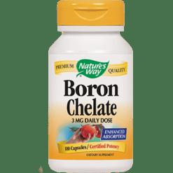 Natures Way Boron Complex 3 mg 100 caps BORO4