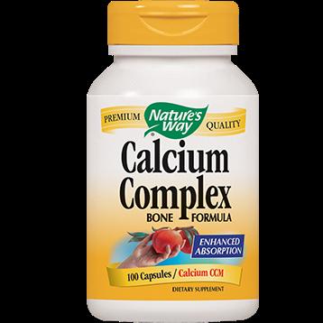Natures Way Calcium Complex bone formula 100 caps CAL13