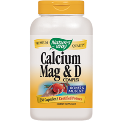 Natures Way Calcium Mag amp D 250 caps CA165