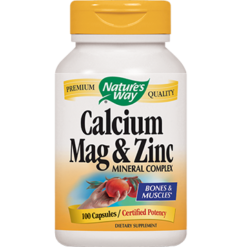 Natures Way Calcium Magnesium amp Zinc 100 caps CMZI3
