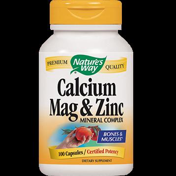 Natures Way Calcium Magnesium amp Zinc 100 caps CMZI3