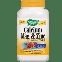 Natures Way Calcium Magnesium amp Zinc 250 caps CMZIN