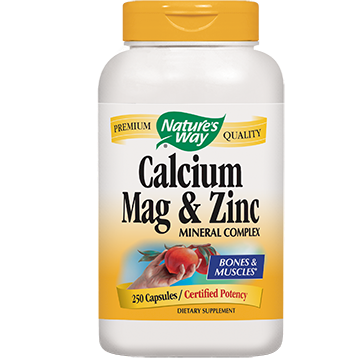 Natures Way Calcium Magnesium amp Zinc 250 caps CMZIN