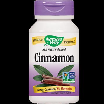 Natures Way Cinnamon 60 vegcaps CIN28