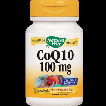 Natures Way CoQ10 100 mg 30 gels COQ70