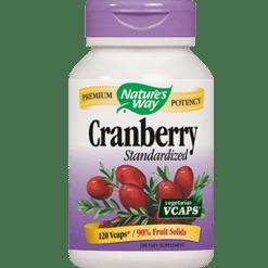 Natures Way Cranberry extract 120 vegcaps CRA24