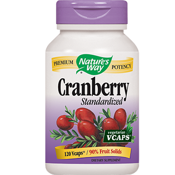 Natures Way Cranberry extract 120 vegcaps CRA24