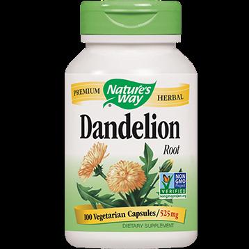Natures Way Dandelion Root 525 mg 100 caps DANDE