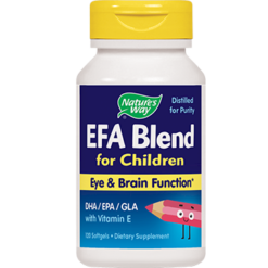 Natures Way EFA Blend for Children 120 gels ATTE3