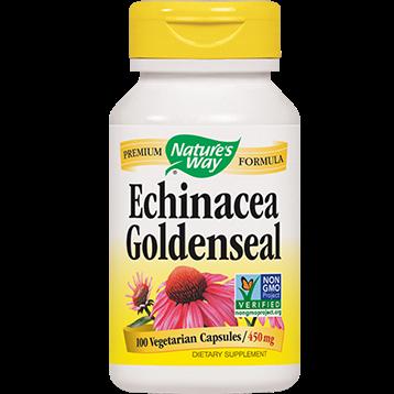 Natures Way Echinacea Goldenseal 100 caps ECGS2