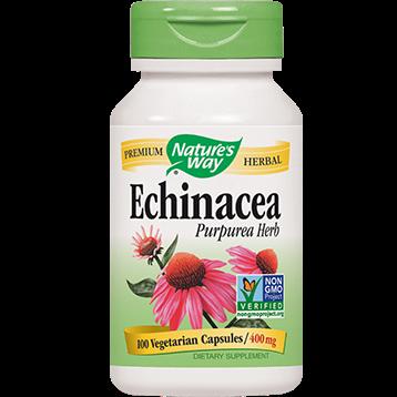 Natures Way Echinacea Purpurea Herb 400 mg 100 caps ECH42