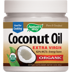 Natures Way EfaGold® Coconut Oil 16 oz COCO9