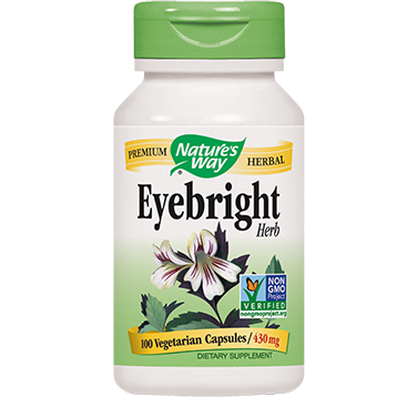 Natures Way Eyebright 430 mg 100 caps EYEBR