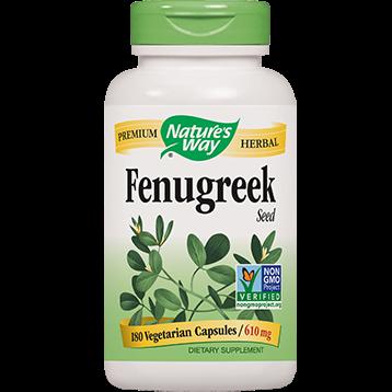 Natures Way Fenugreek Seed 610 mg 180 caps FEN21