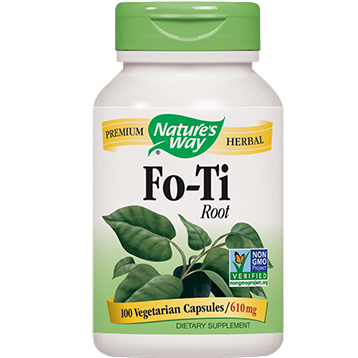 Natures Way Fo Ti Root 610 mg 100 caps FOTI
