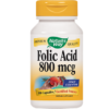 Natures Way Folic Acid 800 mcg 100 capsules FOL15