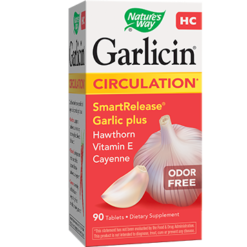 Natures Way Garlicin HC 90 tabs GAR34
