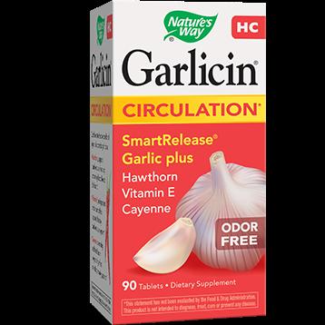 Natures Way Garlicin HC 90 tabs GAR34