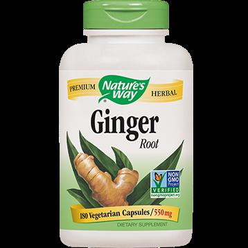 Natures Way Ginger Root 180 caps GI109