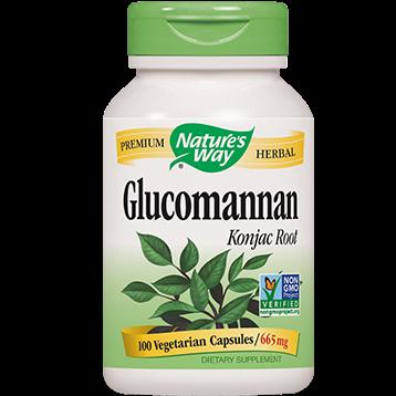 Natures Way Glucomannan 100 caps 665 mg GLUC2