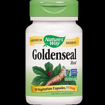 Natures Way Goldenseal Root 570 mg 50 caps GOLD1