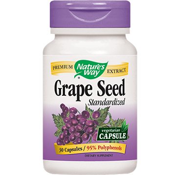 Natures Way Grape Seed 100 mg 30 caps GRA25