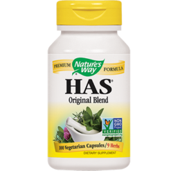 Natures Way HAS Original Formula 100 caps HAFOR