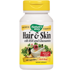 Natures Way Hair amp Skin Formula 599 mg 100 capsules HAIRS