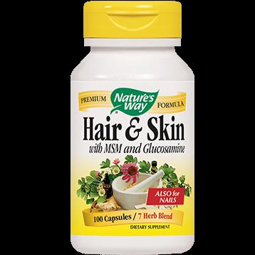 Natures Way Hair amp Skin Formula 599 mg 100 capsules HAIRS