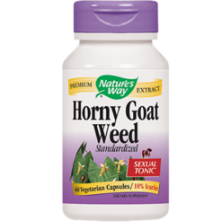 Natures Way Horny Goat Weed 60 caps HORN3