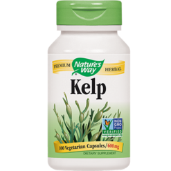 Natures Way Kelp 660 mg 100 capsules KELP6