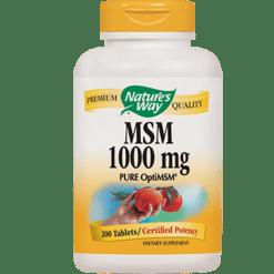 Natures Way MSM 1000 mg 200 tabs MSM17