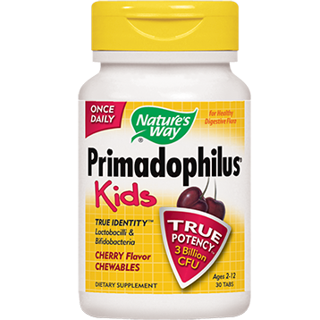 Natures Way Primadophilus Kids Cherry Flavor 30chew PRIM9