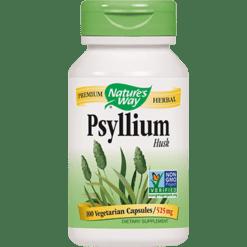 Natures Way Psyllium Husk 525 mg 100 caps PSYL4