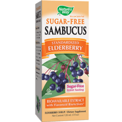 Natures Way Sambucus® Sugar Free Syrup 4 oz SAMB3