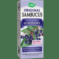 Natures Way Sambucus Original Syrup 4 oz SAMBU