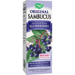 Natures Way Sambucus Original Syrup 8 oz SAM21