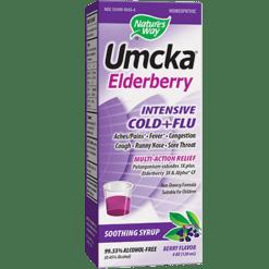 Natures Way Umcka Elderberry Intensive Syrup 4 oz N58456