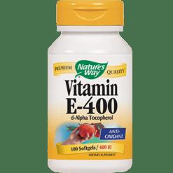 Natures Way Vitamin E 400 IU 100 gels ECAP7