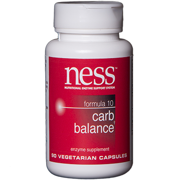 Ness Enzymes Carb Balance 10 90 caps FOR20