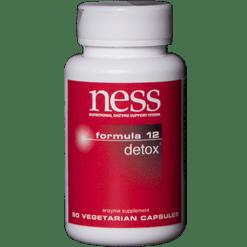 Ness Enzymes Detox 12 90 vegcaps FORM5