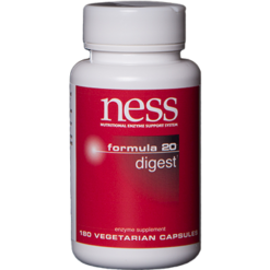 Ness Enzymes Digest 20 180 vegcaps FOR34