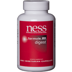 Ness Enzymes Digest 20 500 vegcaps N20500