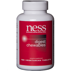 Ness Enzymes Digest Chewables 180 tabs DIG17