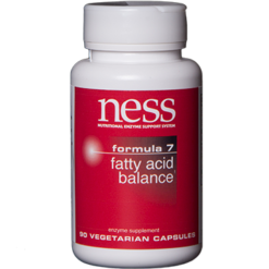 Ness Enzymes Fatty Acid Balance 7 90 vcaps FOR16