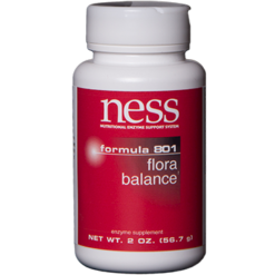 Ness Enzymes Flora Balance Formula 801 2 oz FOR24