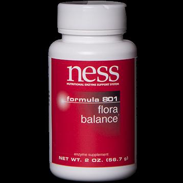 Ness Enzymes Flora Balance Formula 801 2 oz FOR24